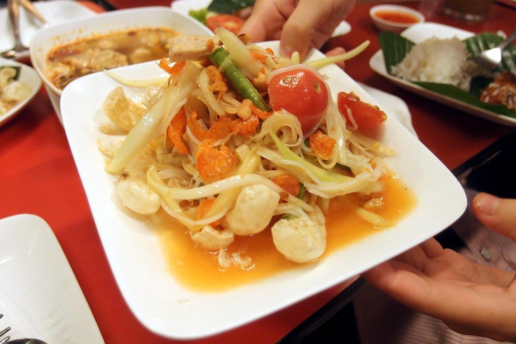 Salad Du Du Thai Lan