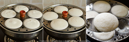 Idli Recipe Step5