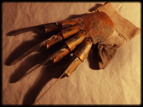 Handmade Freddy's glove