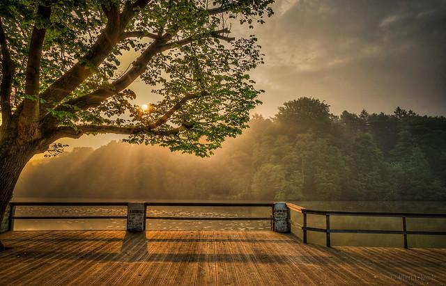 Sunrise, Les Sept Fontaines - Belgium