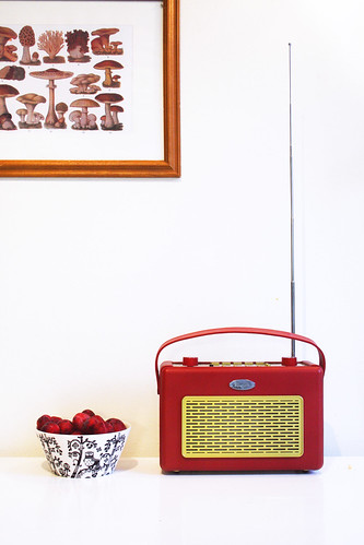Plums and the radio