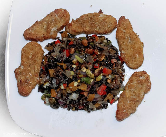 Vegan Wild Rice with Dried Apricots & Pistachios with Seven Grain ...