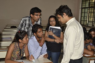Rahul, student of DBIT, forming a group for open source module customization for FPAI