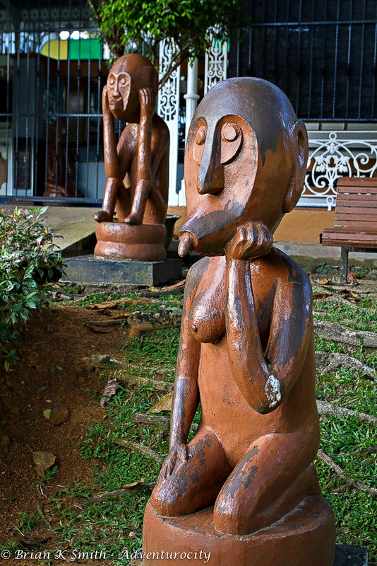 Contemporary Wood Carvings, Merdeka Park