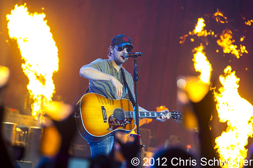 Eric Church - 10-04-12 - The Blood, Sweat & Beers Tour, Joe Louis Arena, Detroit, MI