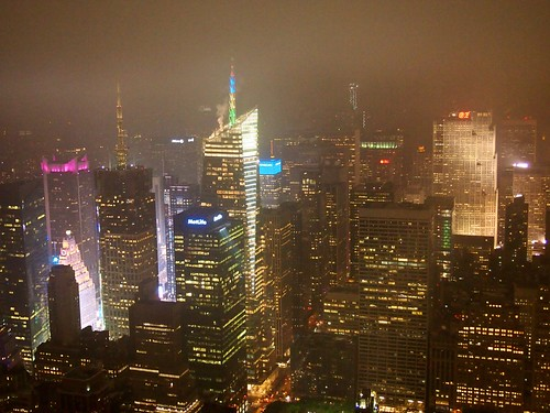 Mist Over Manhattan