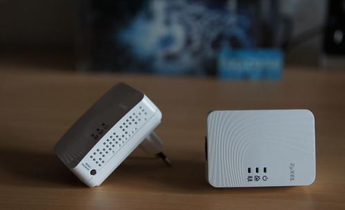 ZyXEL HD Powerline Adapteris: 500 Mbps elektros tinklu