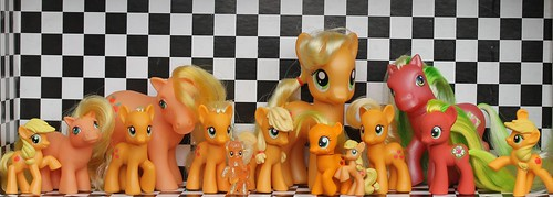 My Little Pony figurines represent a niche product.