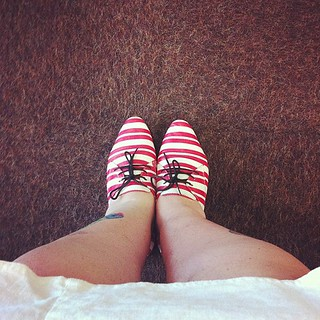 Stripey. #showyourshoes