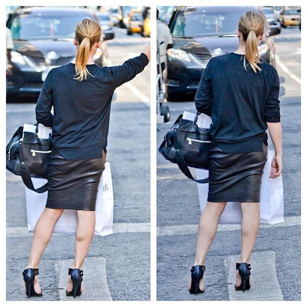 loving this all black look legs look great looks