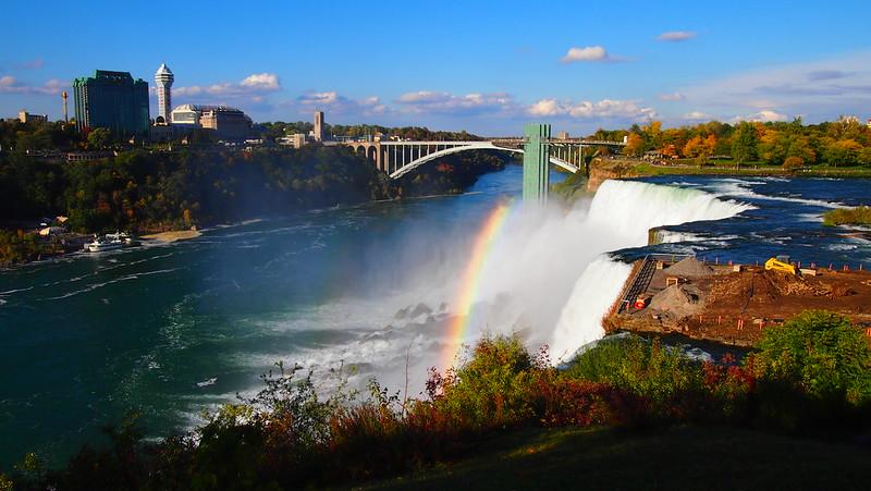 Niagara Falls - American Side Vibrant
