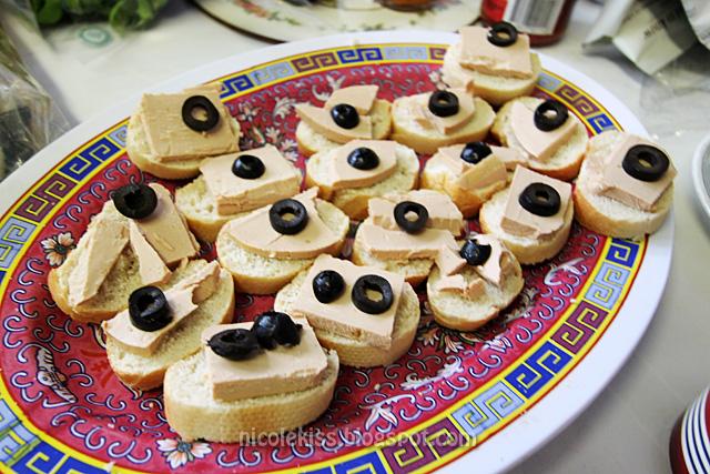 foie gras pate bruschetta