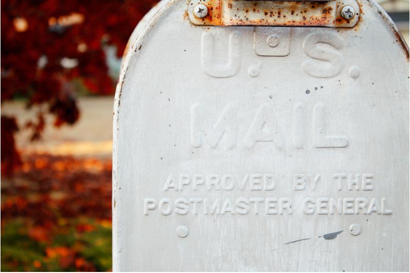 {vintage} mailbox