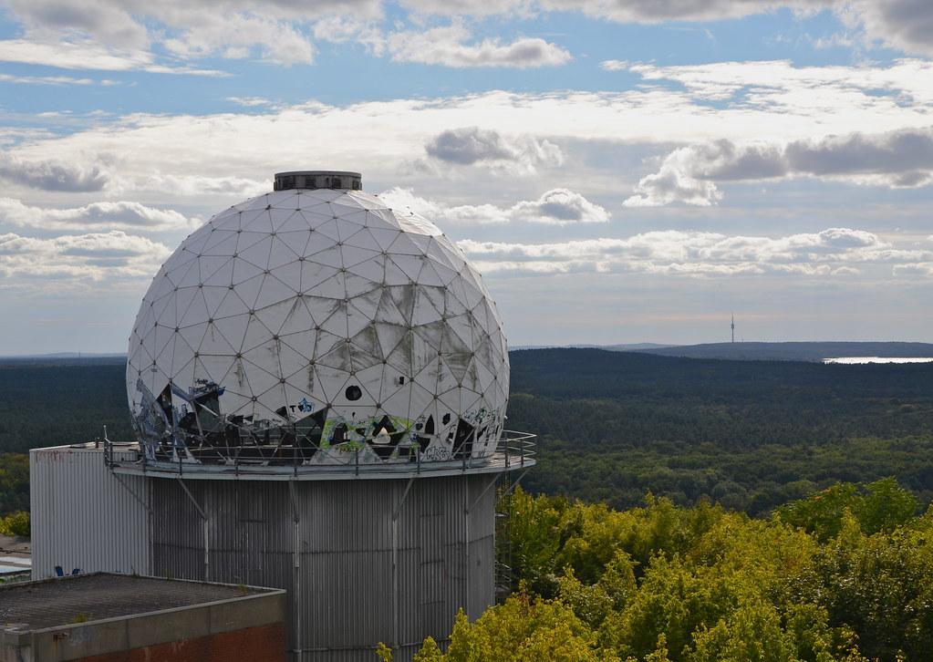 Teufelsberg NSA en Berlín