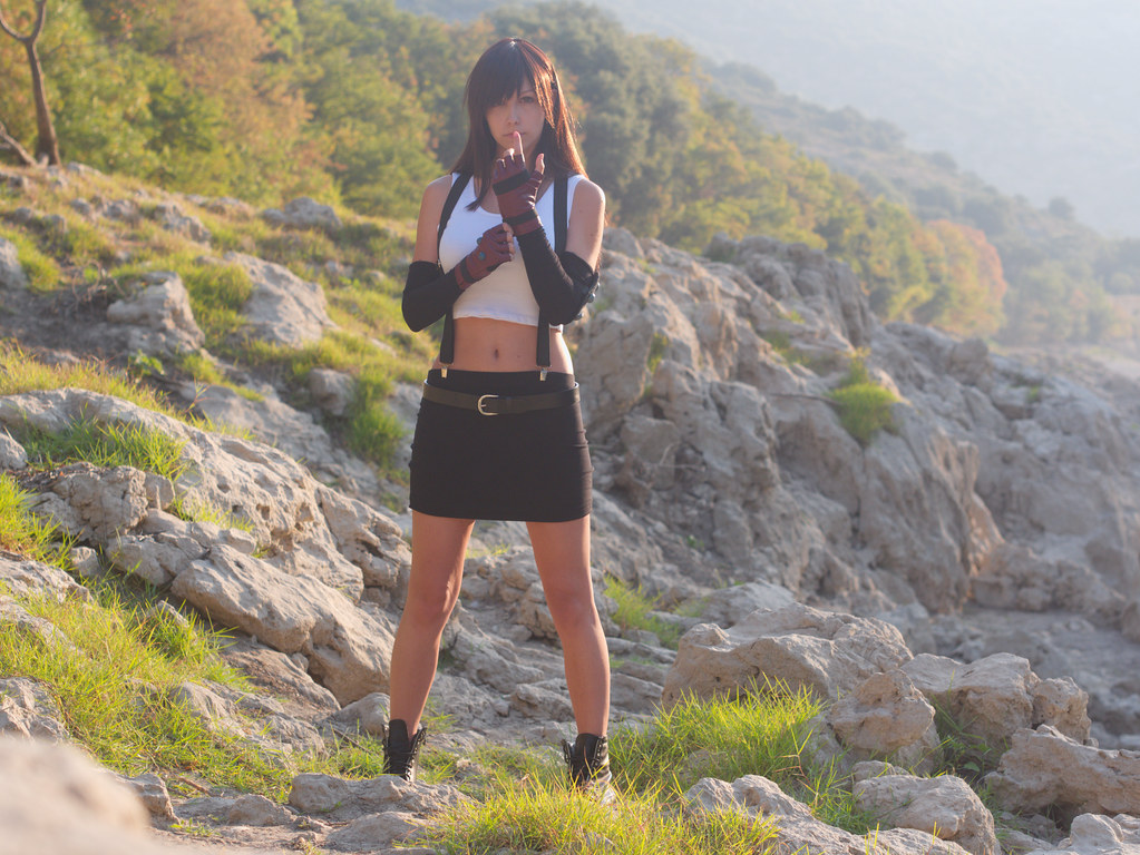 related image - Shooting Tifa Lockhart - Final Fantasy - Gorges de l'Hérault - 2016-08-17- P1520440