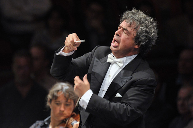 Semyon Bychkov at the BBC Proms © 2013 Chris Christodoulou