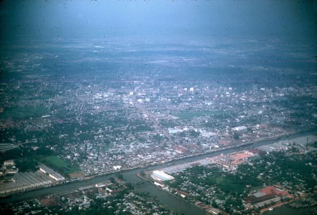 SAIGON 1967 - Rạch Bến Nghé - Kinh ngang số 2 - Cầu Chữ U