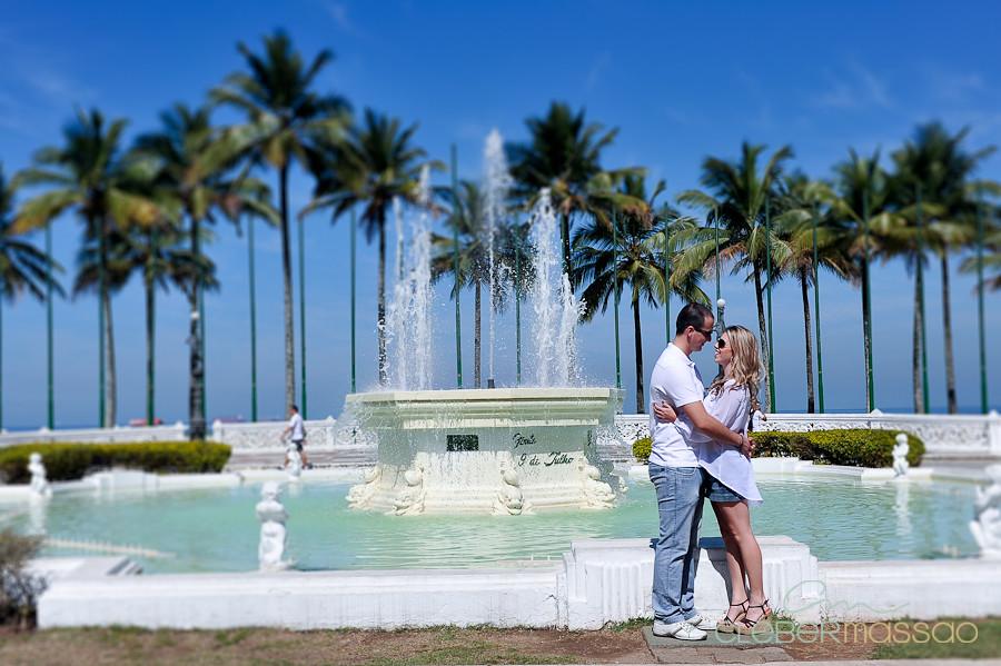 Lais e Diego E-session na praia de Santos-8
