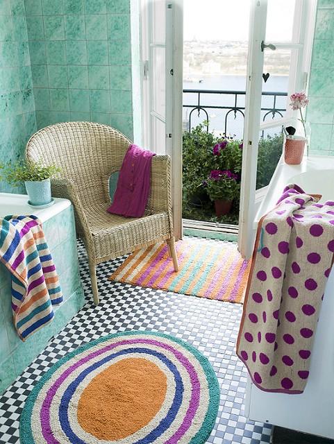 ingwerfarbener runder teppich aus der herbstkollektion von gudrun sj d n flickr photo sharing. Black Bedroom Furniture Sets. Home Design Ideas