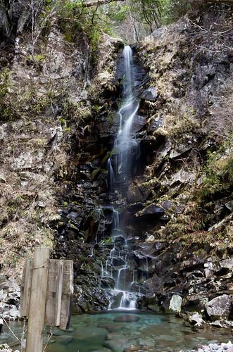 つるべ落としの滝 2012.4.7-2