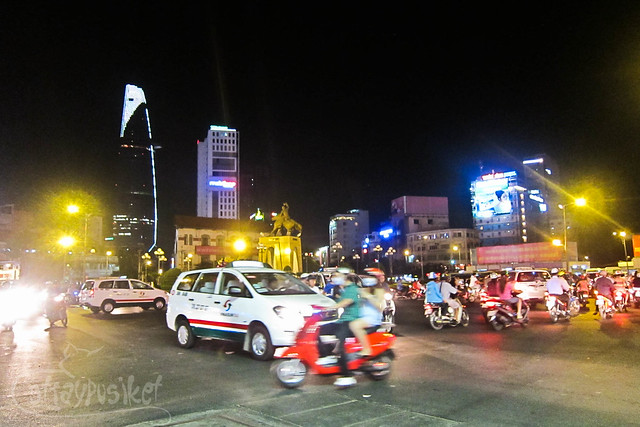 Ho Chi Minh at Night