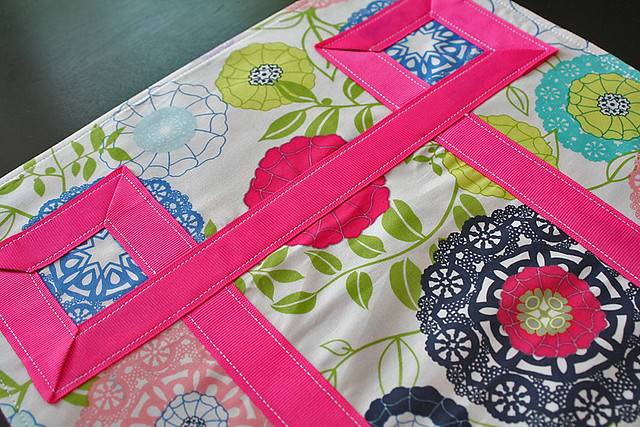Ribbon-Embellished Placemats