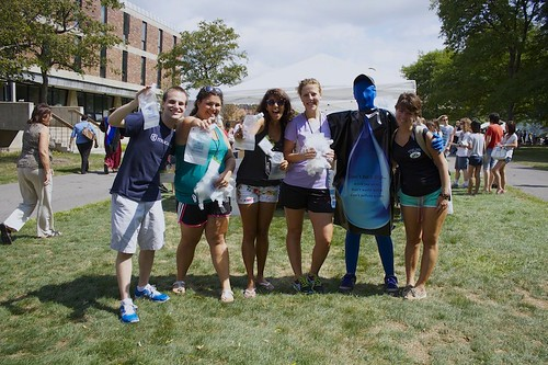 Take Back the Tap at the CommunityAcademic Quad Picnic