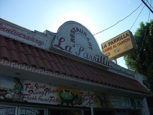 La Parrilla Mexican Restaurant in Boyle Heights