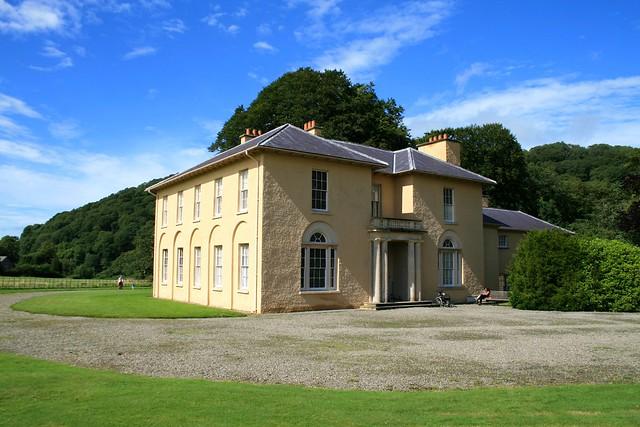 The villa - Llanerchaeron, Ciliau Aeron, Ceredigion, Wales