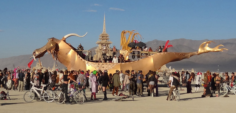 Burning Man 2012 Abraxas Dragon