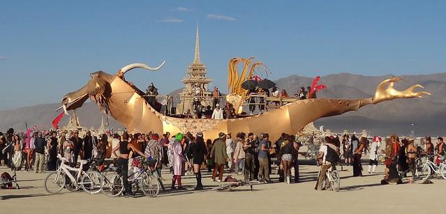 Burning Man 2012 Abraxas Dragon