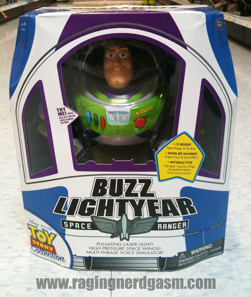 Disney's Pixar's Toy story Collection Gentle Giant FiguresBuzz Lightyear Space Ranger 007