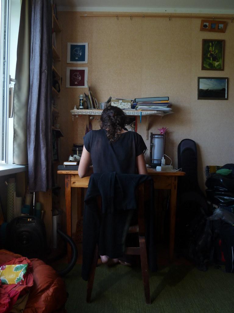 """""""Redaccio"""" des de cal Tom i la Kadri, a Voru (Estonia)"""