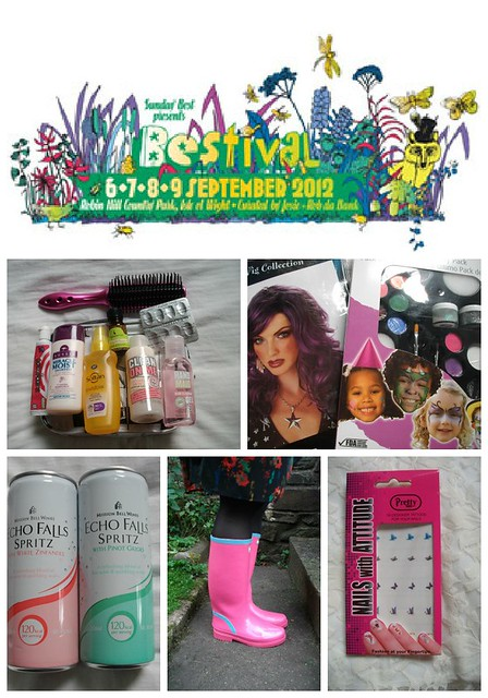 bestival collage 1