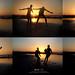 معانقة ألوان الغروب بقفزات من الفرح ♥ by Top-Me-Photography
