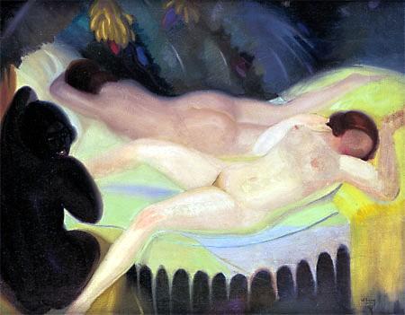 Lam, Wilfredo (1902-1982) - 1926 Nude