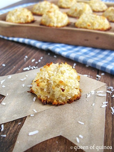 Quinoa Coconut Macaroons