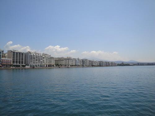 Thessaloniki, thea apo to limani