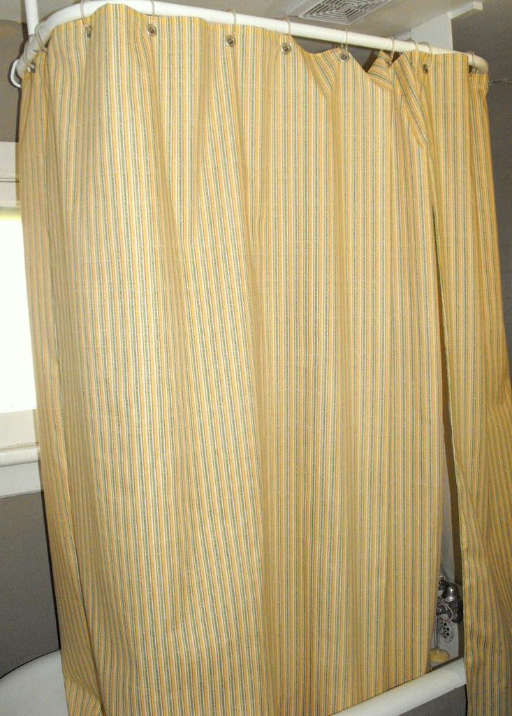 Apartment Update Custom Shower Curtain