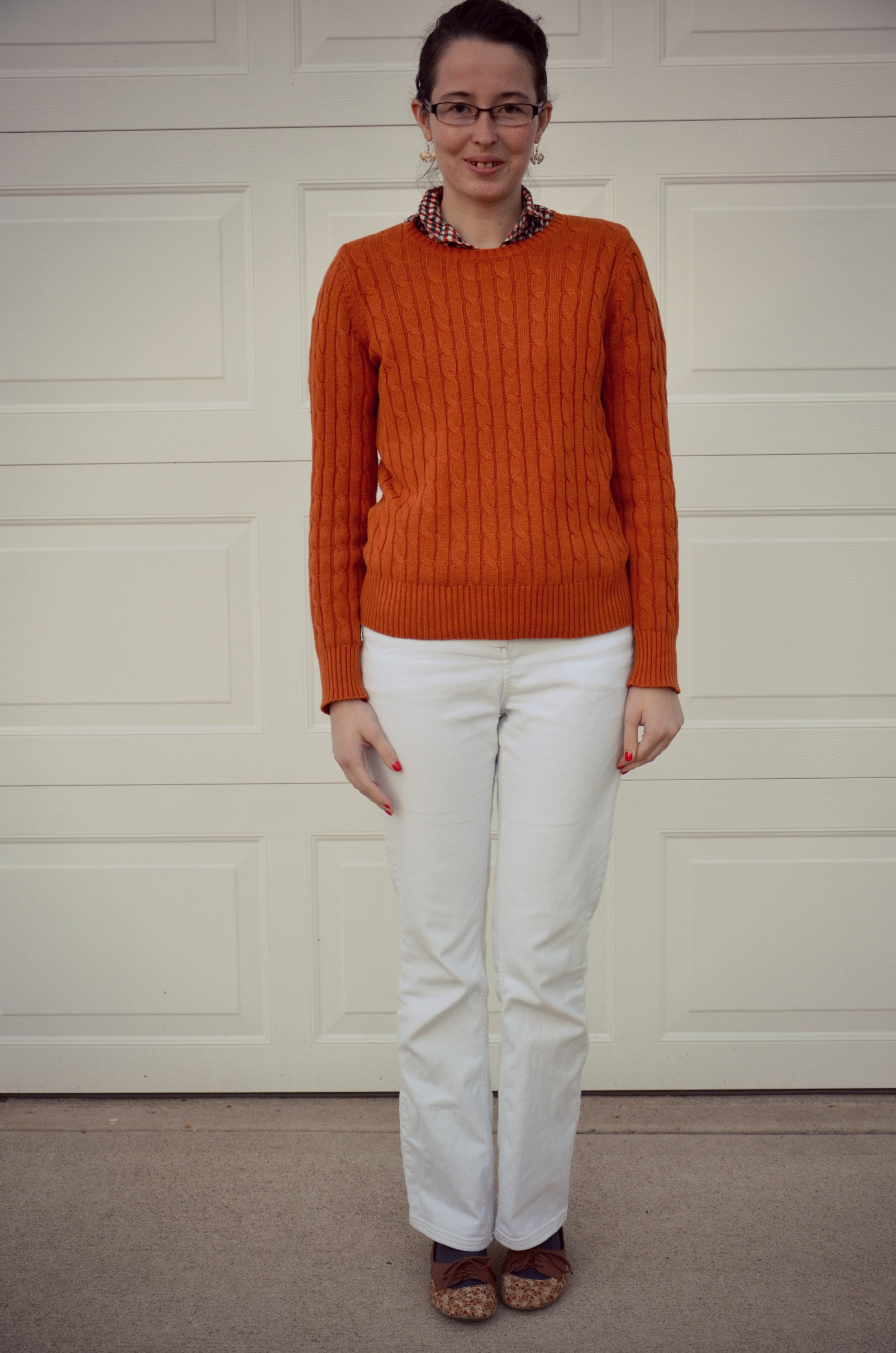 What I Wore - Time is Love ❘ Modest ❘ Fashion ❘ Fall ❘ Wearing White Jeans in the Fall ❘ Boden