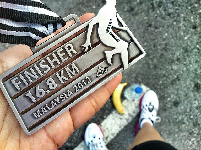 Adidas KOTR Malaysia 2012 Finisher's Medal