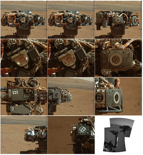 Curiosity Sol 32 Mastcam Left robotic arm