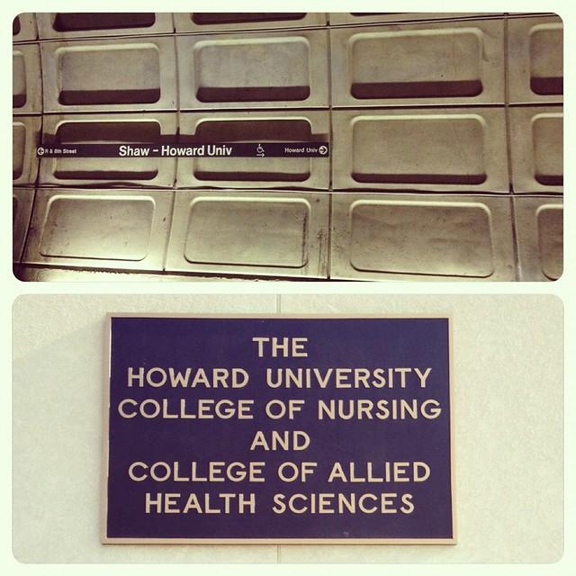 @ Shaw Metro Station // Howard University