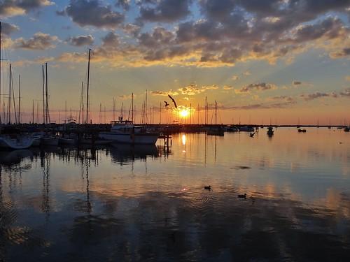 wisconsin sailboat sunrise day lakemichigan milwaukee bayview southshore milwaukeelakefront southshoreyachtclub pwpartlycloudy