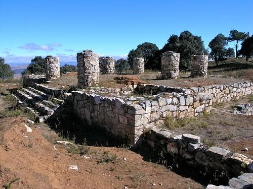 Ruinas mixtecas de Monte Negro, Región Mixteca, Oaxaca, Mexico