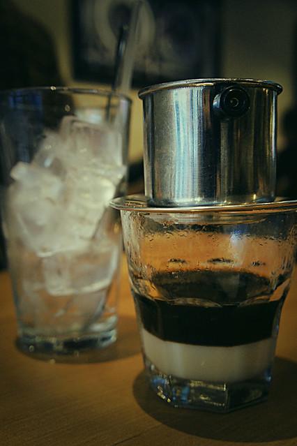 Iced coffee, Vietnamese drip style!