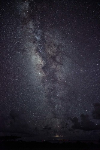 Milky Way Over Sea