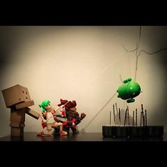 Let's kill Abdroid #android #danbo #yotsuba #mazinger #akuma #kill #die #toys #toysrevolution #kuwait #q8 #funny #fun
