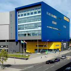 IKEA Coventry (Ben Stephens Architecture with Ruddle Wilkinson Architects/Capita Architecture 2007)