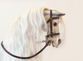 """High Key Rocking Horse"" - the predominance of high brightness and whites"